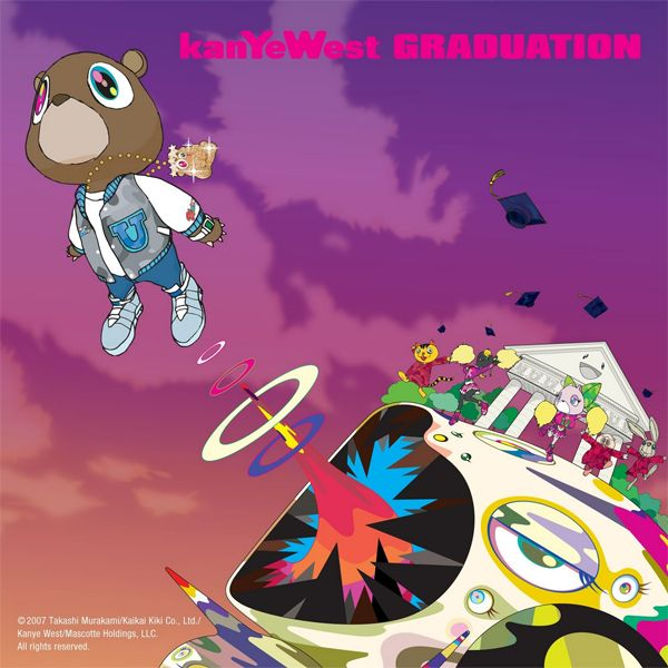 Kanye West - Graduation album cover
