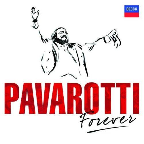 Luciano Pavarotti - Pavarotti Forever album cover