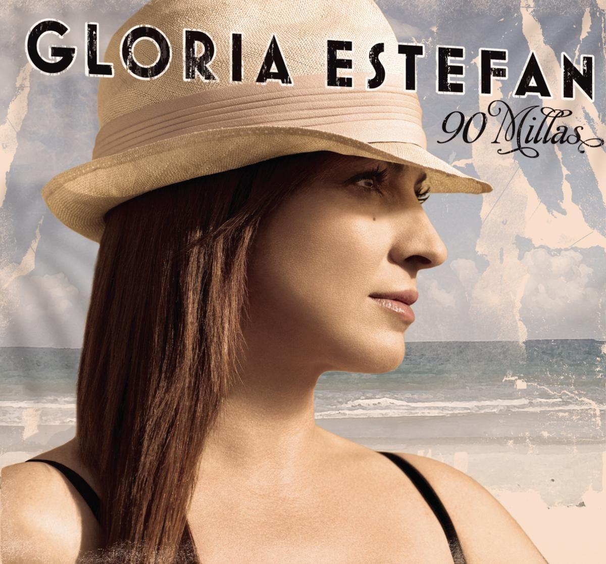 Gloria Estefan - 90 Millas album cover