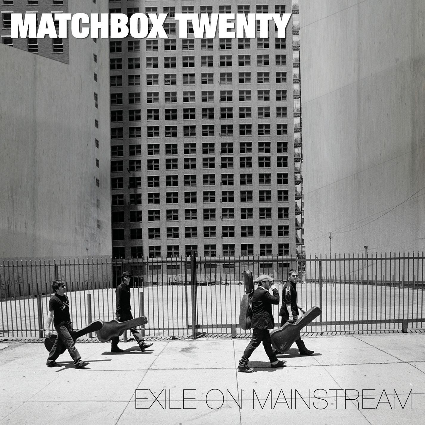 Matchbox Twenty - Exile On Mainstream album cover