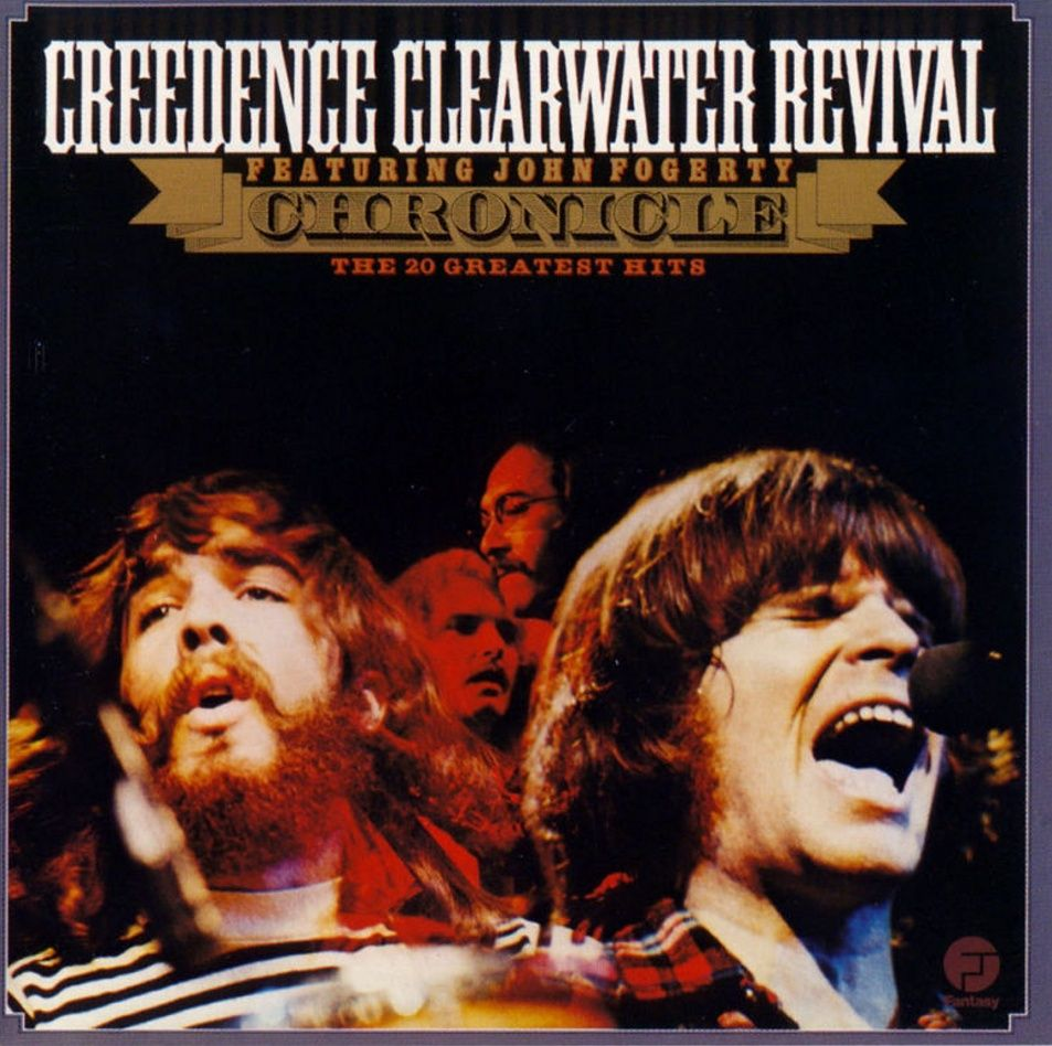 Creedence Clearwater Revival - Chronicle: The 20 Greatest Hits album cover