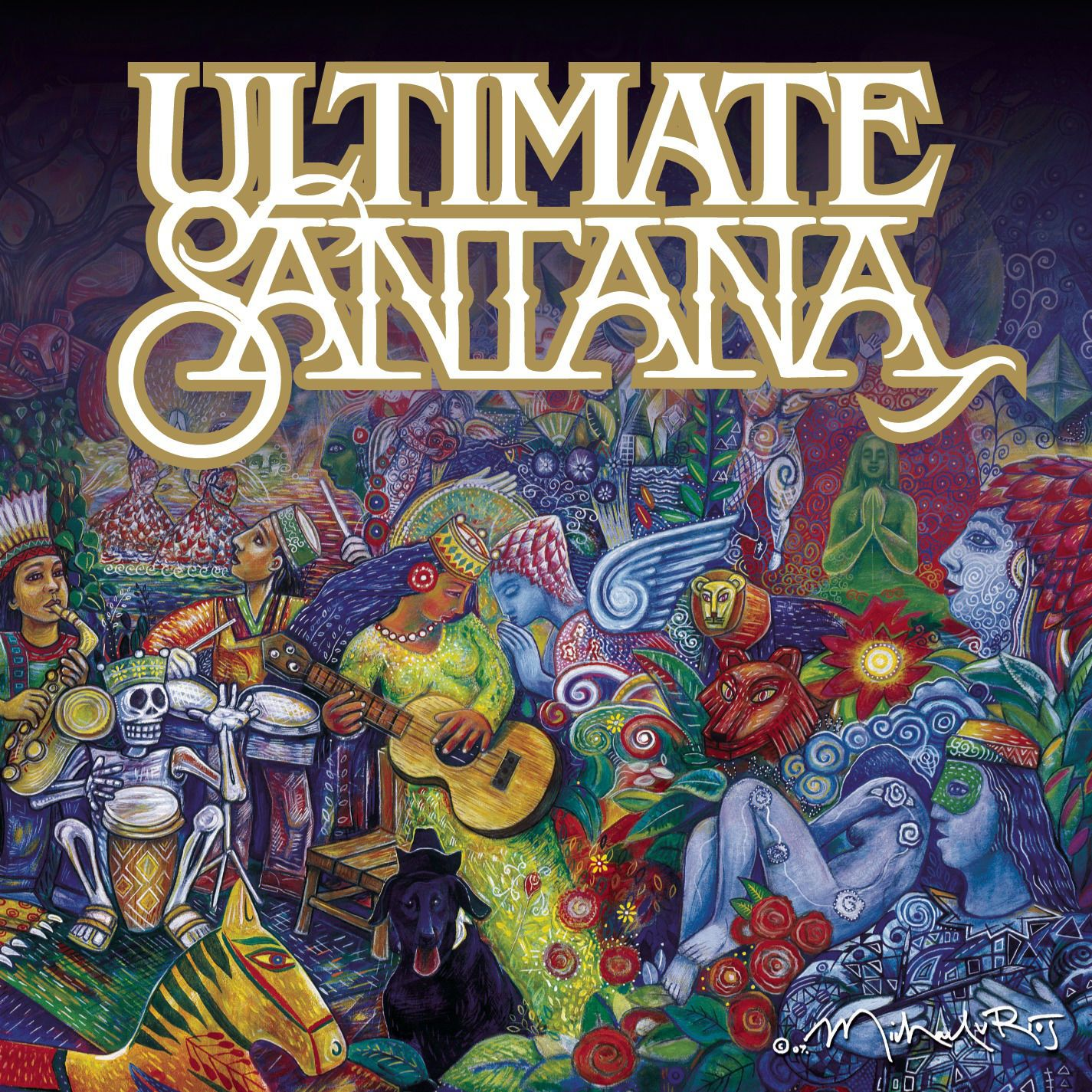 Santana - Ultimate Santana album cover