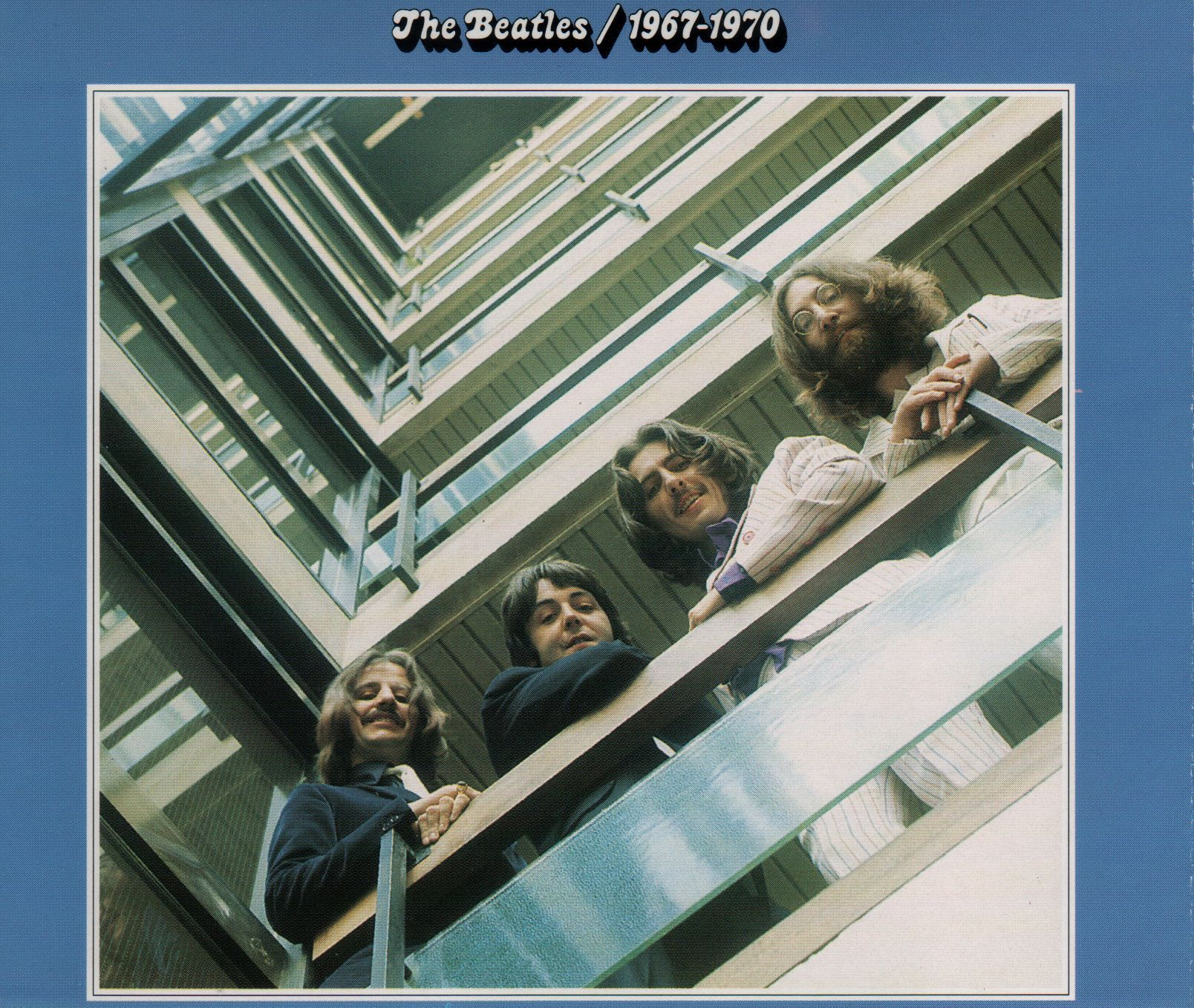 The Beatles - 1967 - 1970 album cover