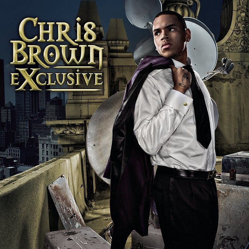 Chris Brown - Exclusive album cover