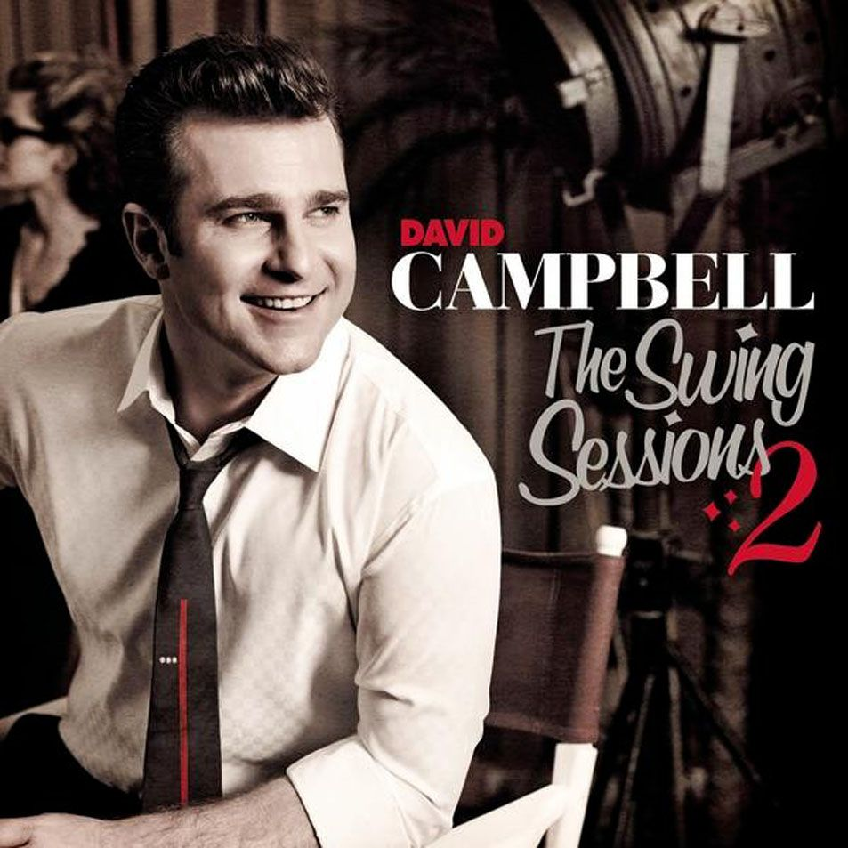 David Campbell - The Swing Sessions 2 album cover