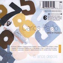 Carlos Paiao - Letra E Musica - 15 Anos Depois album cover