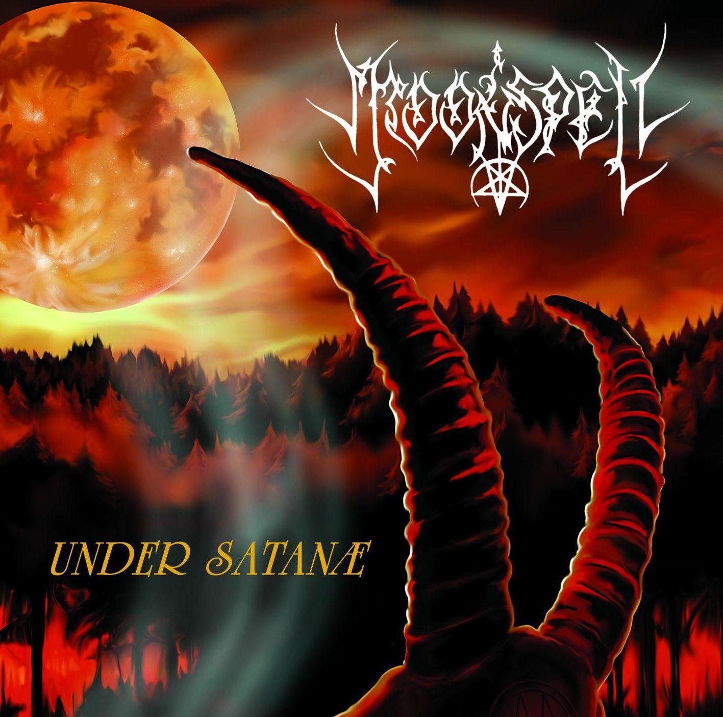 Moonspell - Under Satanae album cover