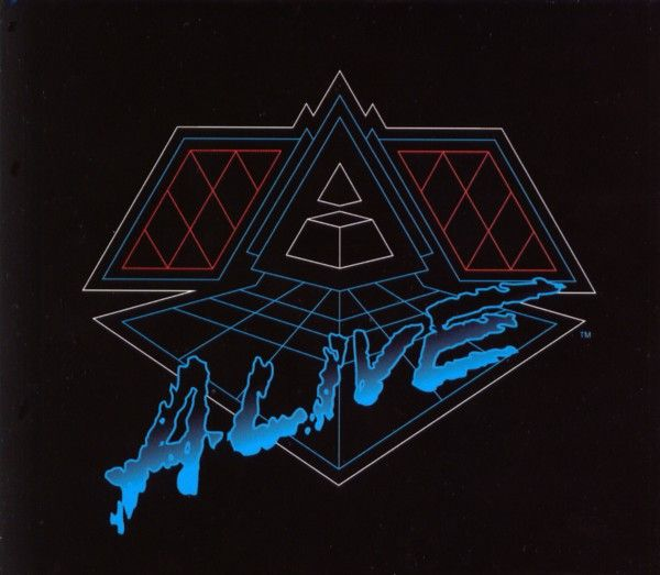 Daft Punk - Alive 2007 album cover