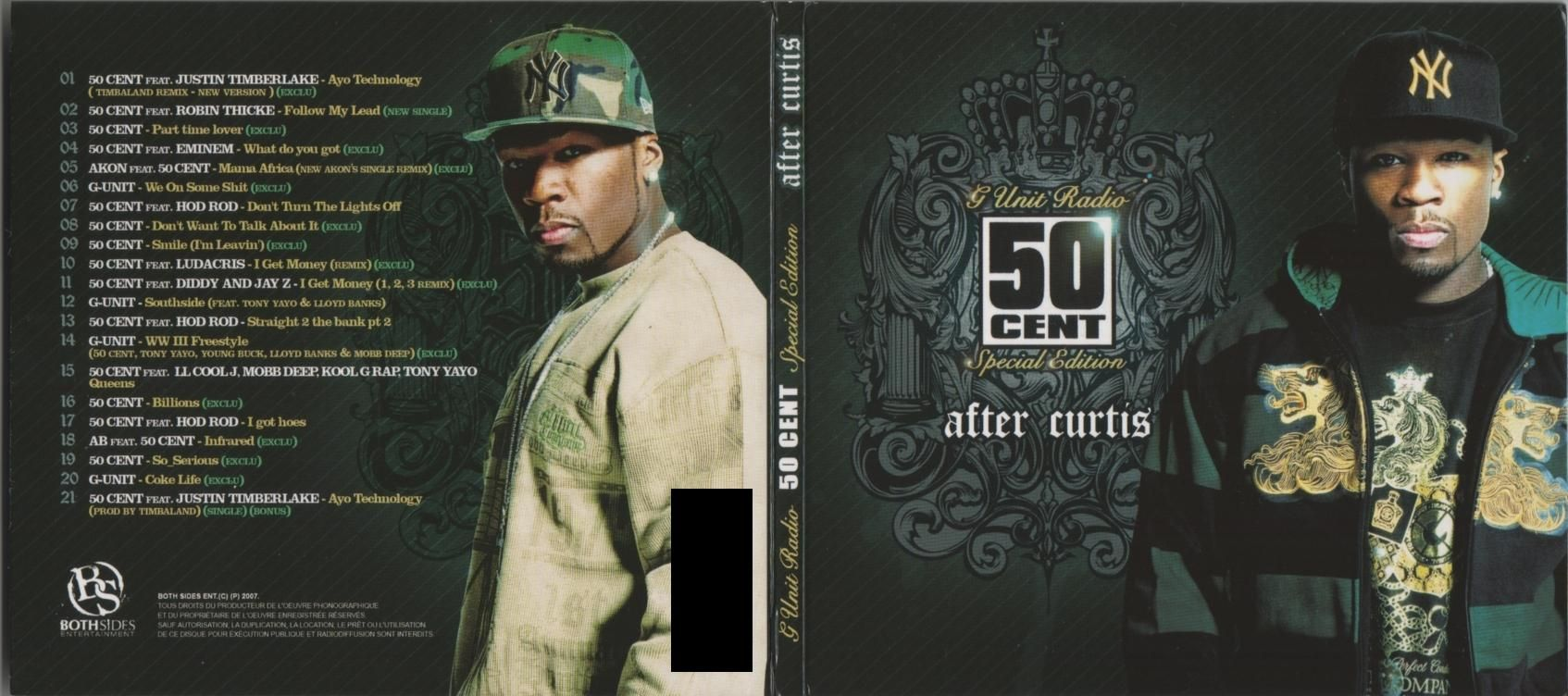 50 Cent - After Curtis album cover
