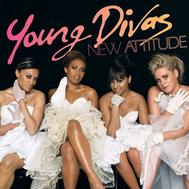The Young Divas - New Attitude album cover