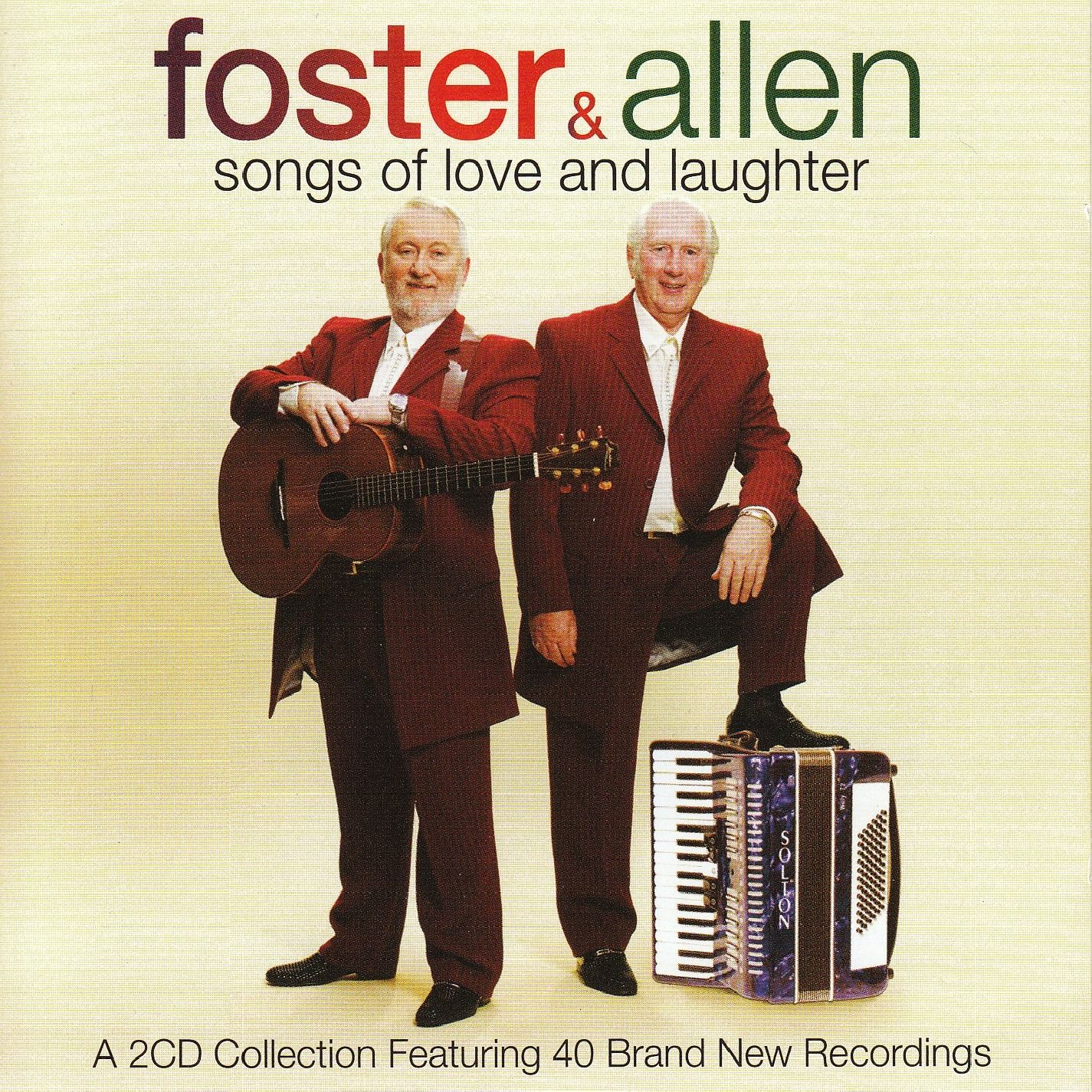 Foster & Allen - Songs Of Love And Laughter album cover
