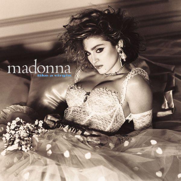 Madonna - Like A Virgin album cover