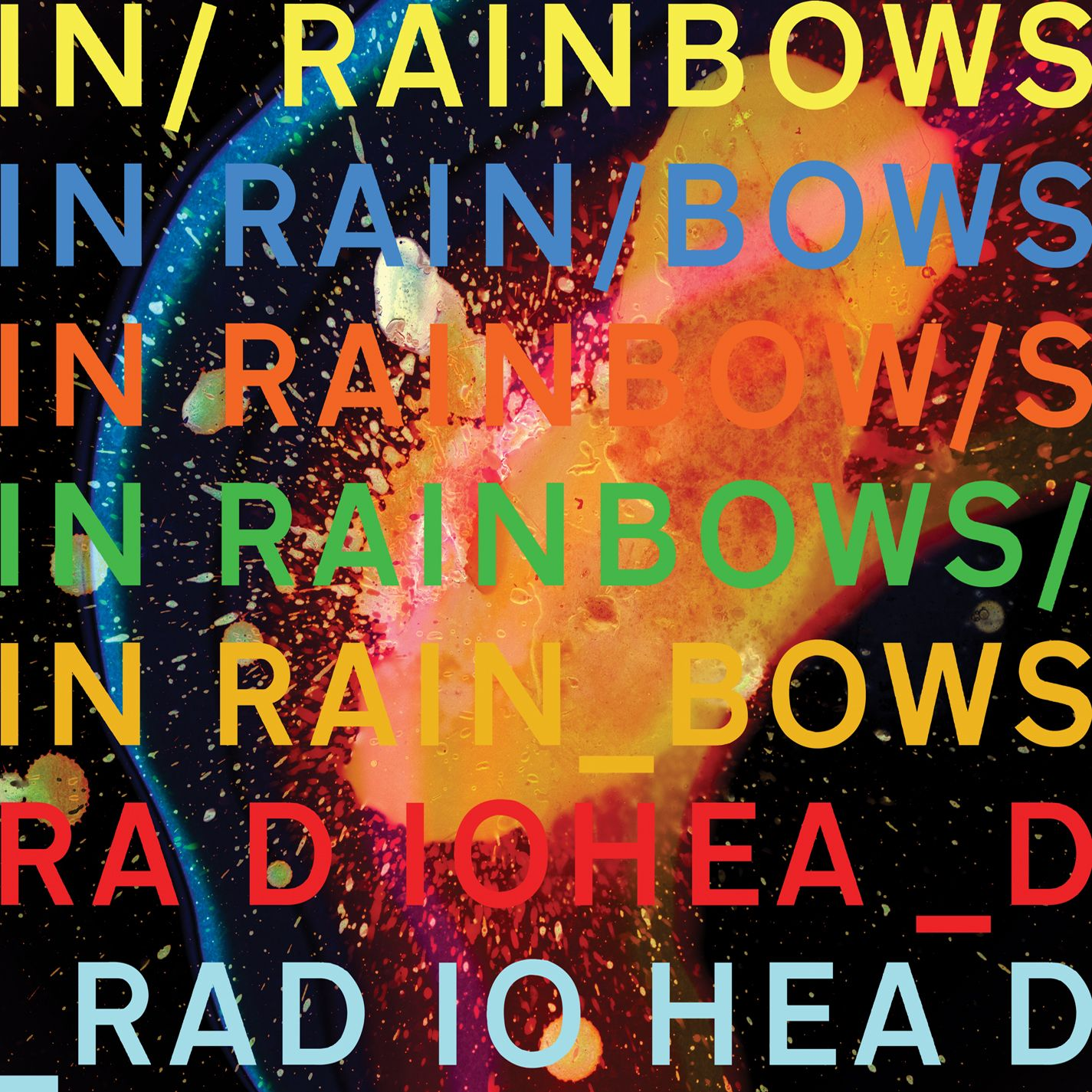 Radiohead - In Rainbows album cover