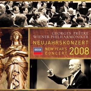 Georges Pretre - Neujahrskonzert 2008 album cover