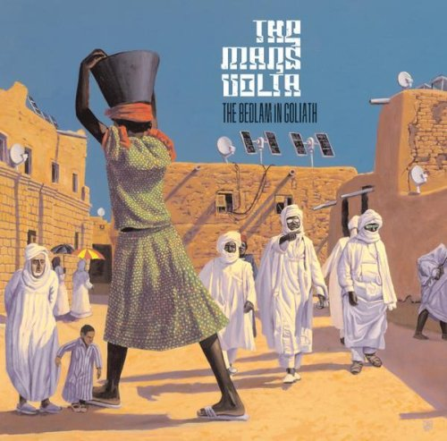 The Mars Volta - The Bedlam In Goliath album cover