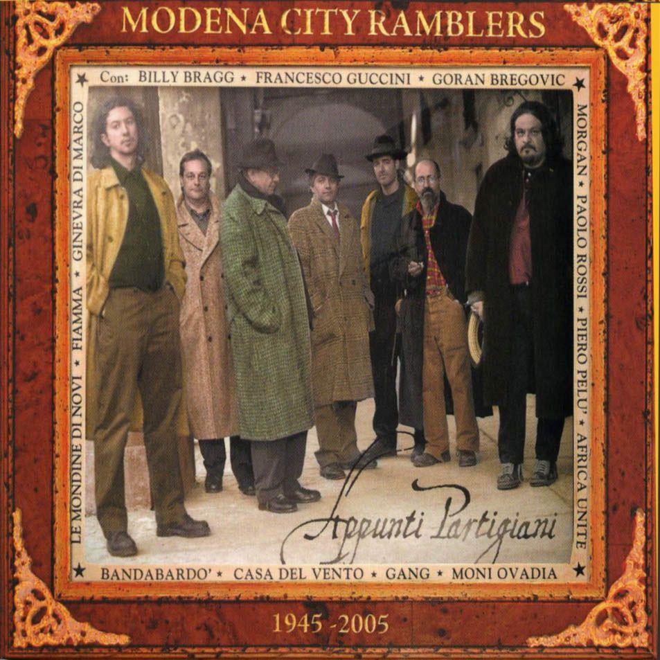 Modena City Ramblers - Appunti Partigiani album cover