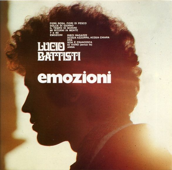 Lucio Battisti - Emozioni album cover