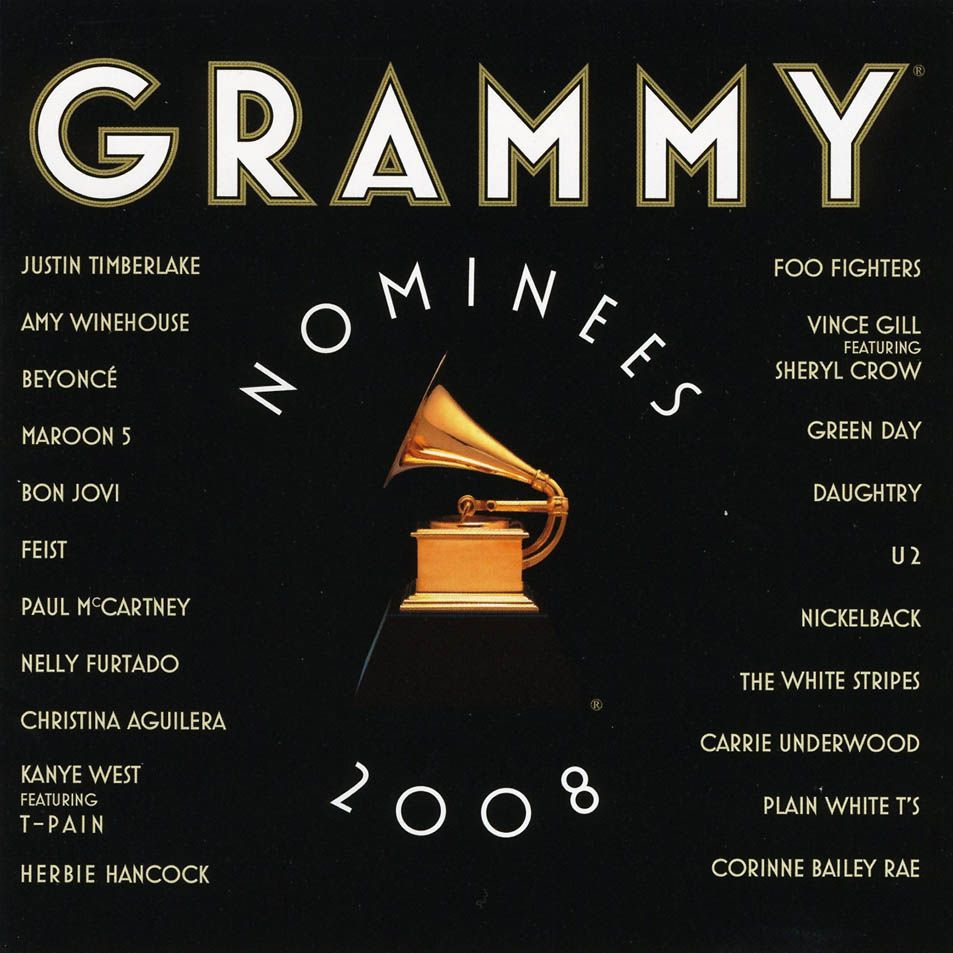Various Artists - 2008 Grammy Nominees album cover