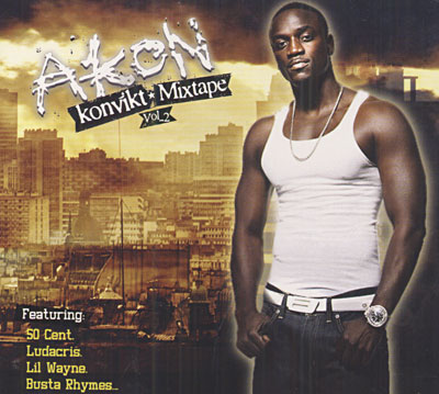 Akon - Konvikt Mixtape Volume 2 album cover