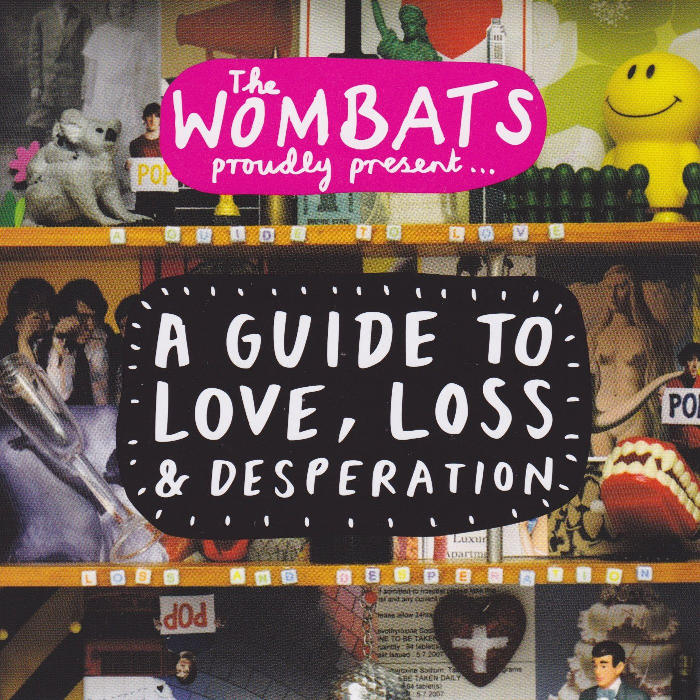The Wombats - A Guide To Love Loss & Desperation album cover