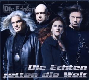 Die Echten - Die Echten Retten Die Welt album cover