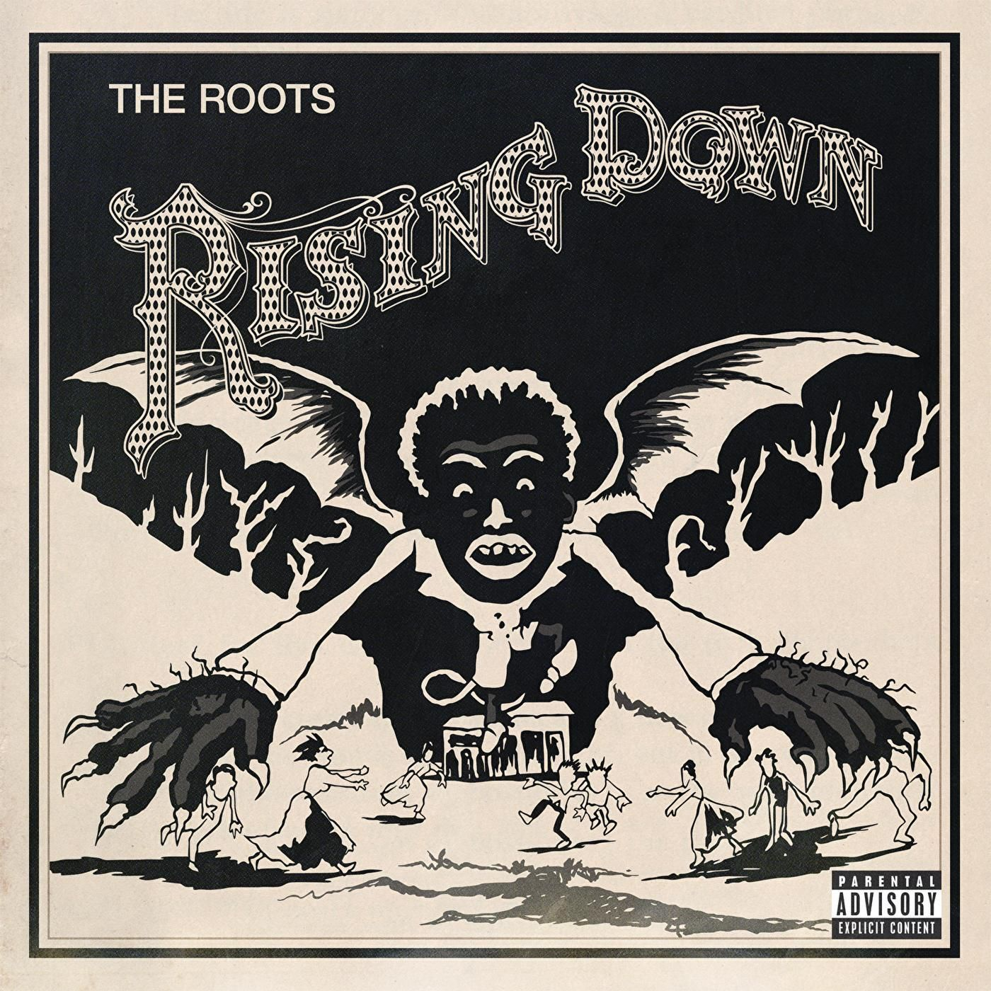 The Roots - Rising Down album cover