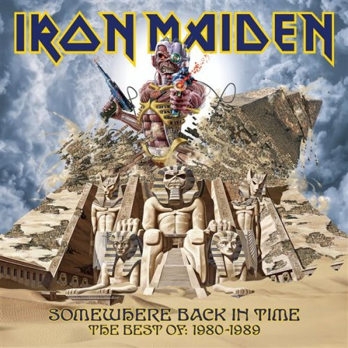 Iron Maiden - Somewhere Back In Time: The Best Of 1980 - 1989 album cover