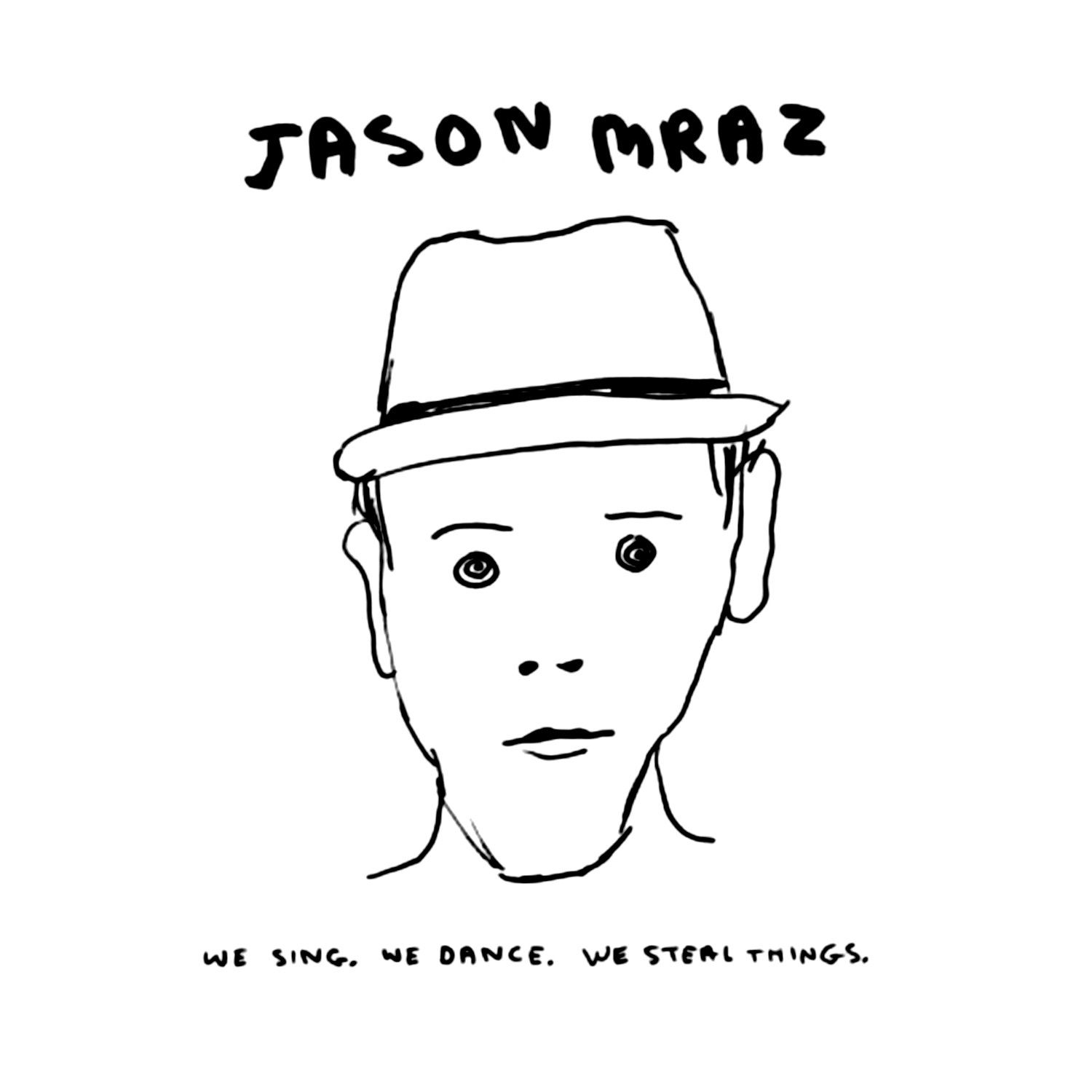 Jason Mraz - We Sing. We Dance. We Steal Things. album cover