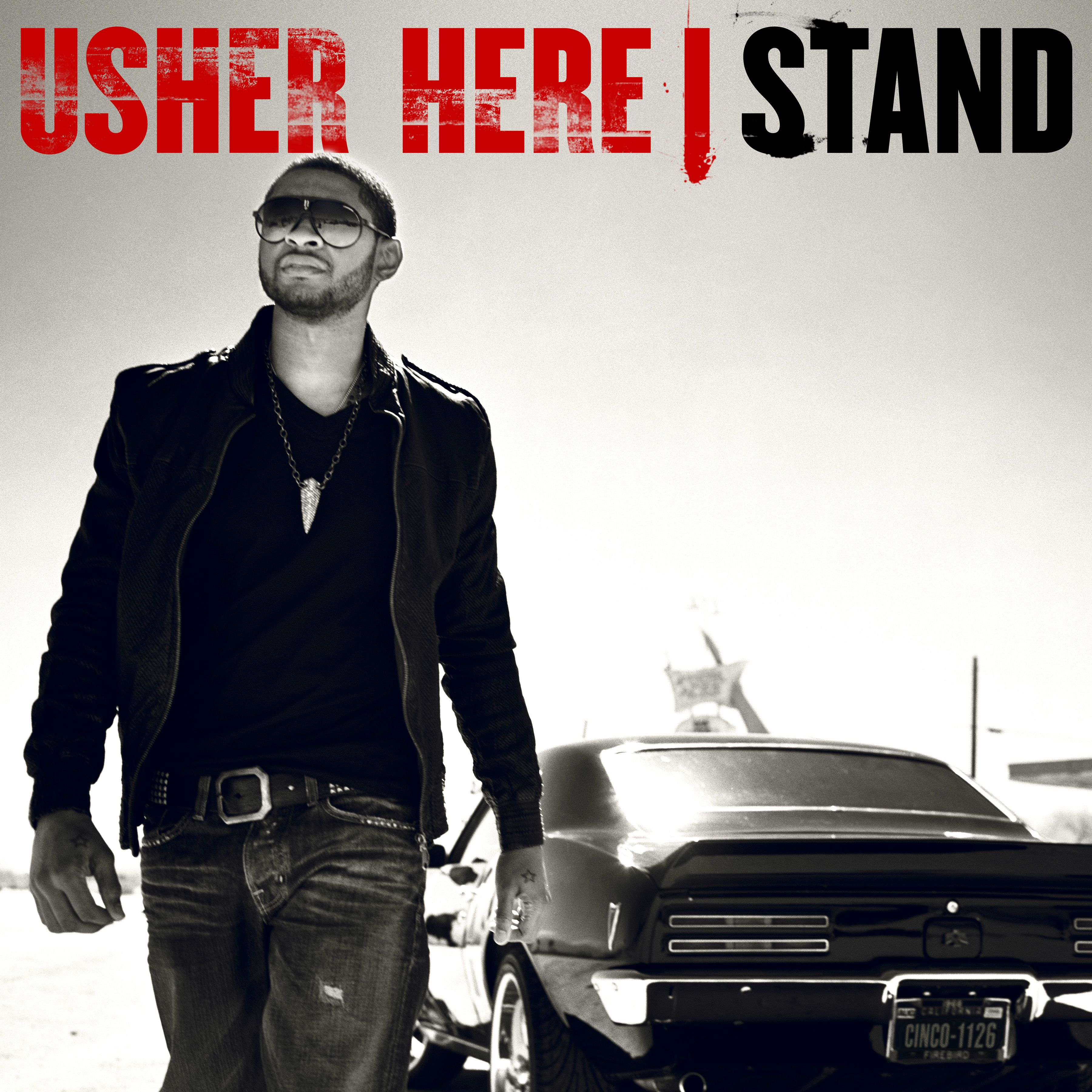 Usher - Here I Stand album cover