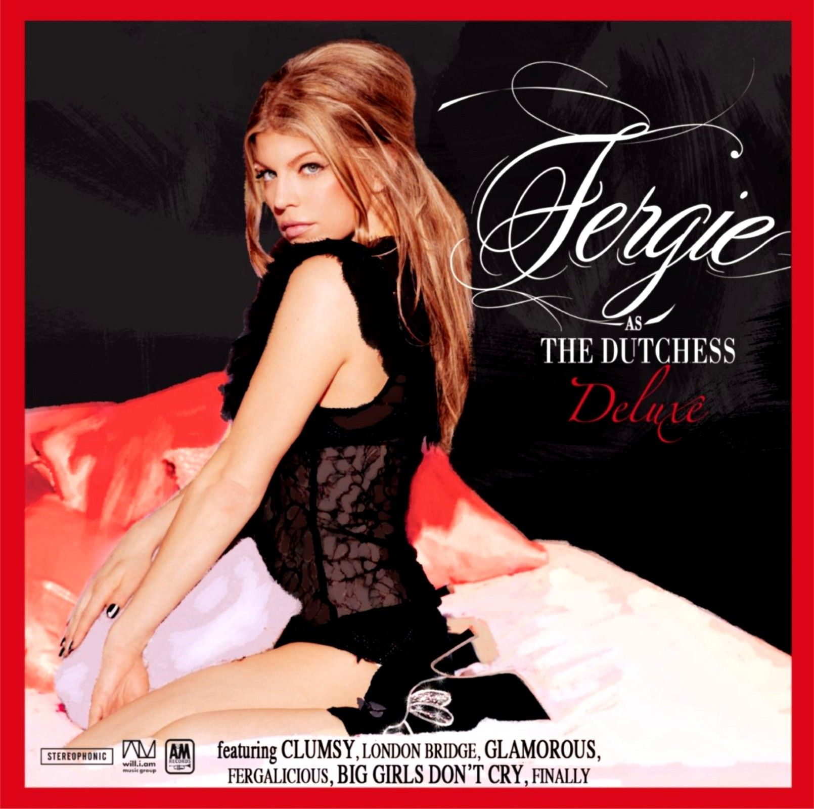 Fergie - The Dutchess: Deluxe E.p. album cover