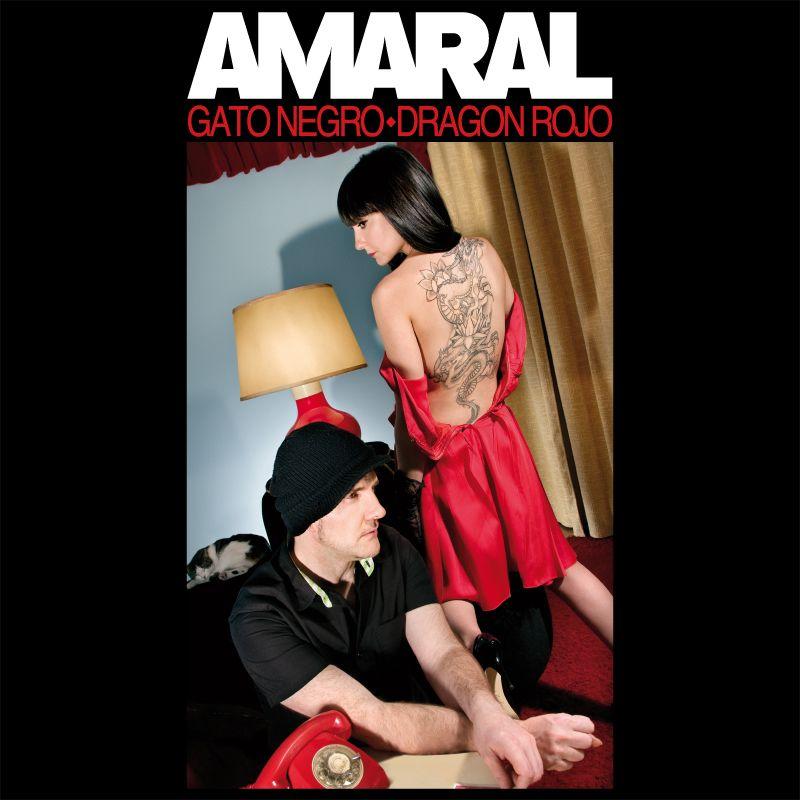 Amaral - Gato Negro Dragon Rojo album cover