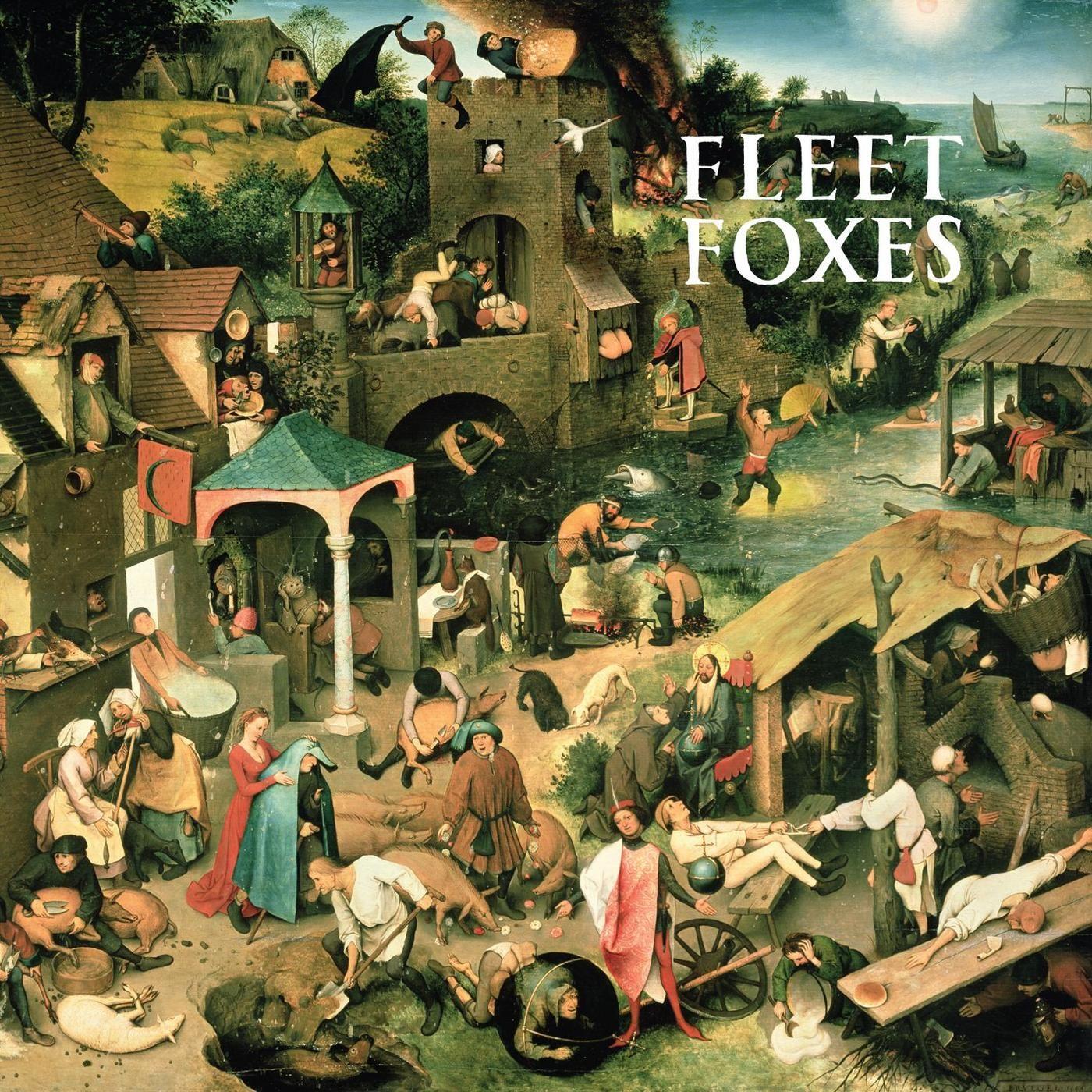 Fleet Foxes - Fleet Foxes album cover