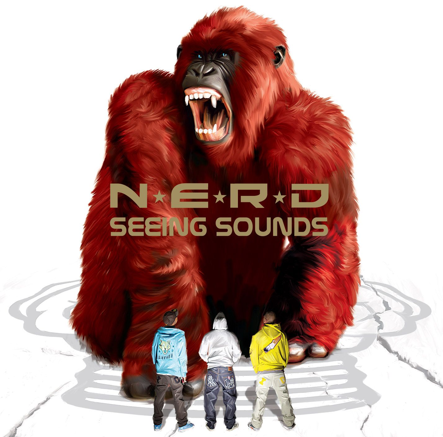 N*E*R*D - Seeing Sounds album cover