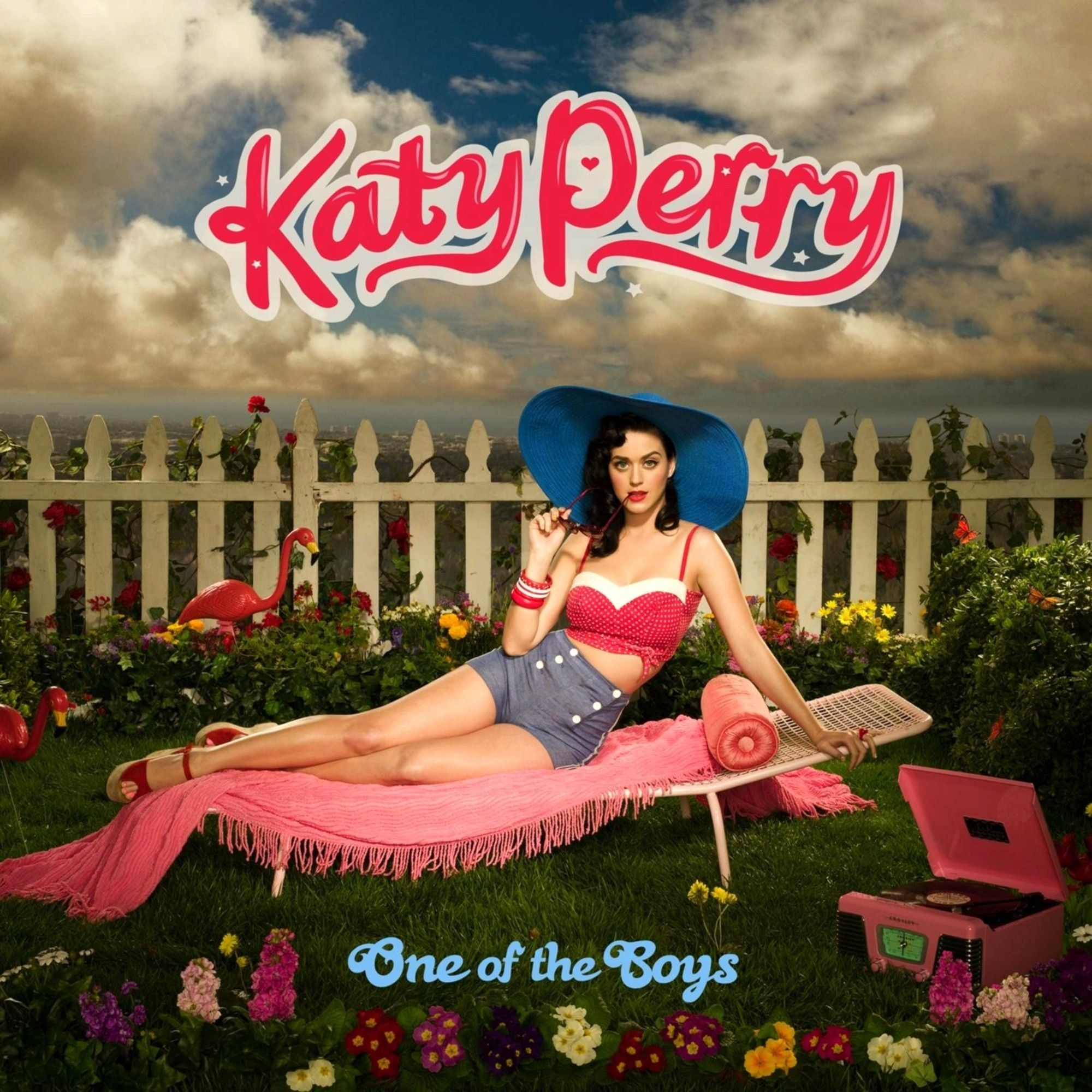 Katy Perry - One Of The Boys album cover