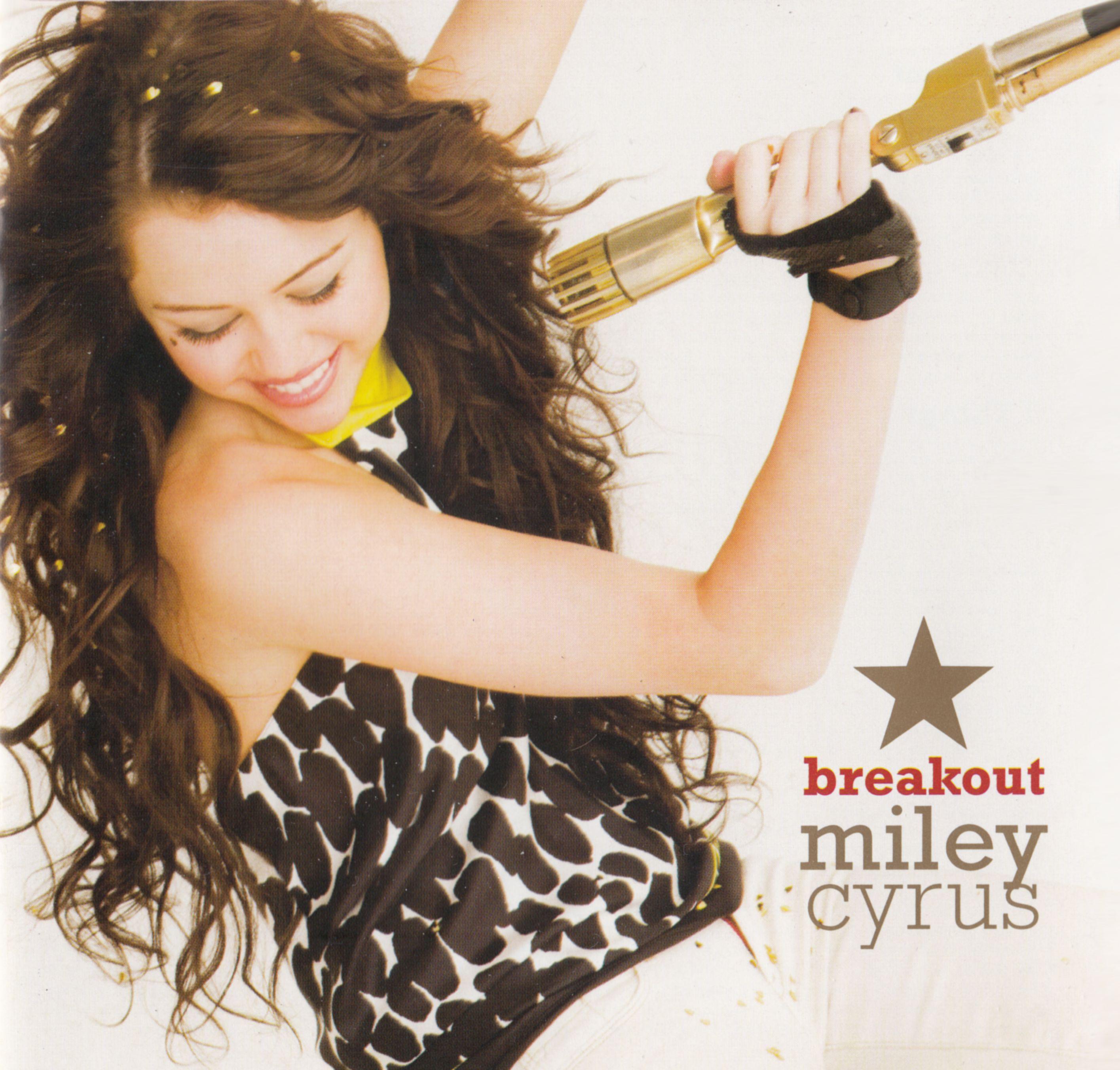 Miley Cyrus - Breakout album cover
