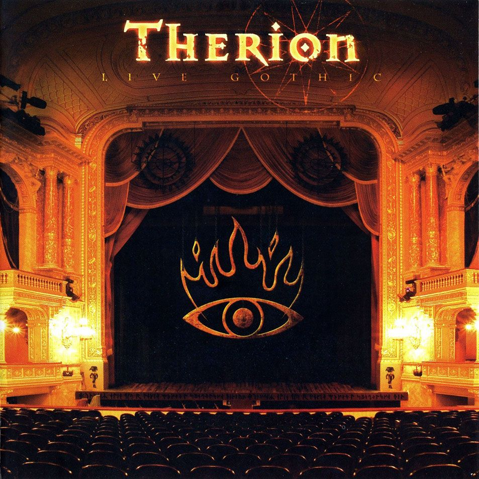 Therion - Live Gothic album cover