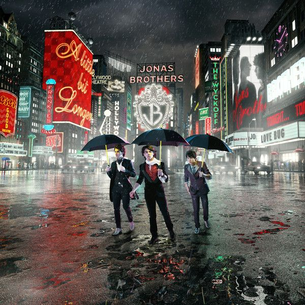 Jonas Brothers - A Little Bit Longer album cover