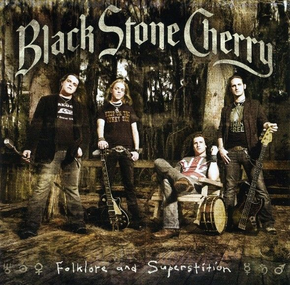 Black Stone Cherry - Folklore And Superstition album cover