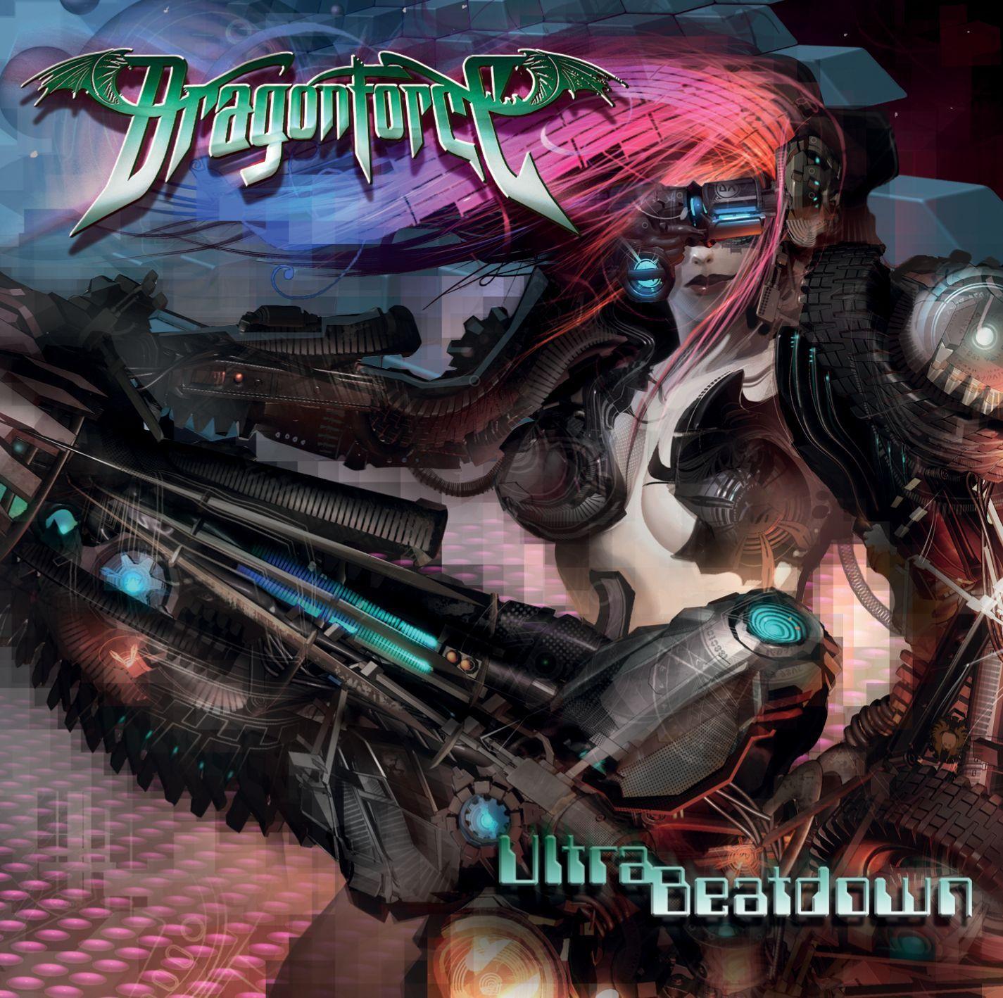 Dragonforce - Ultra Beatdown album cover