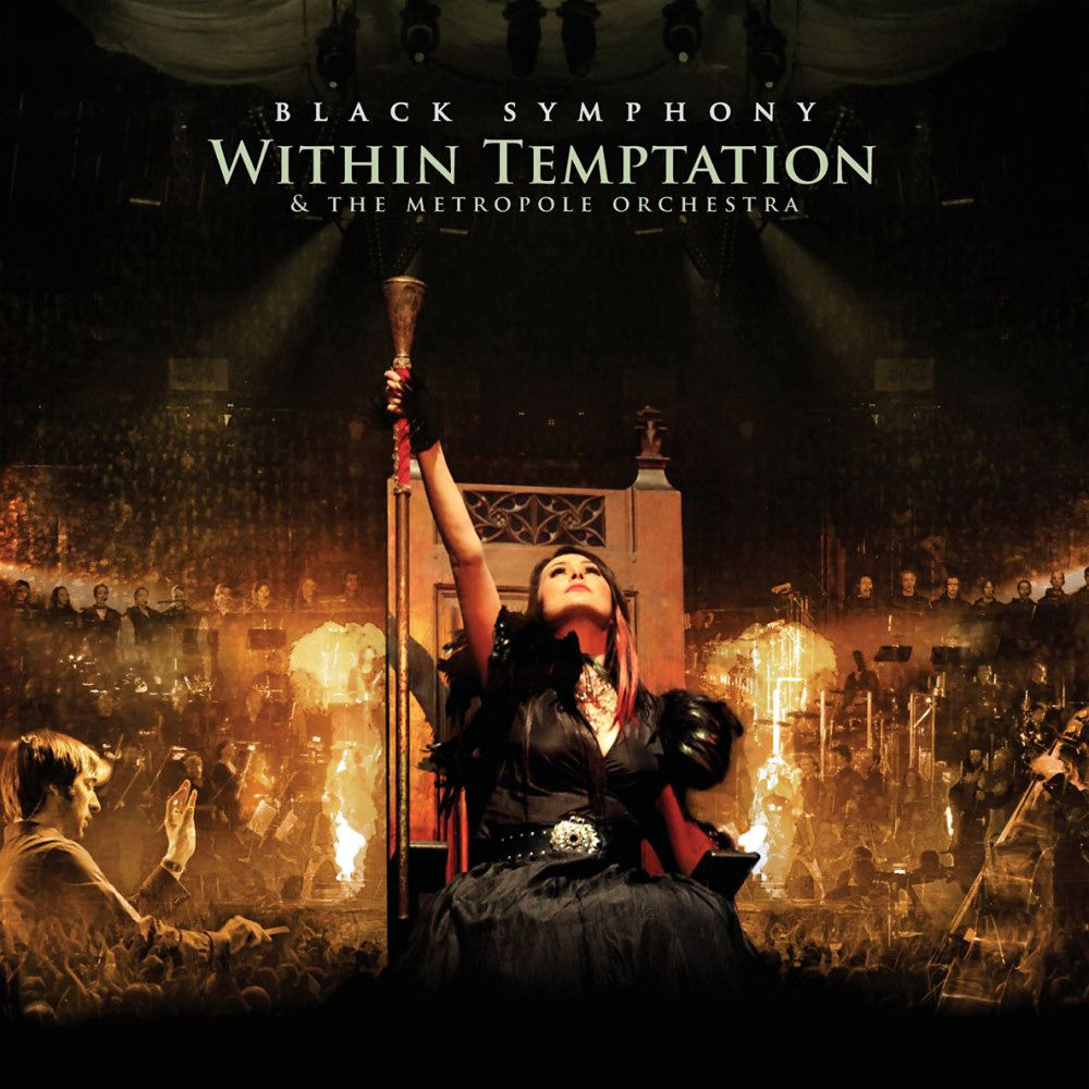 Within Temptation - Black Symphony album cover
