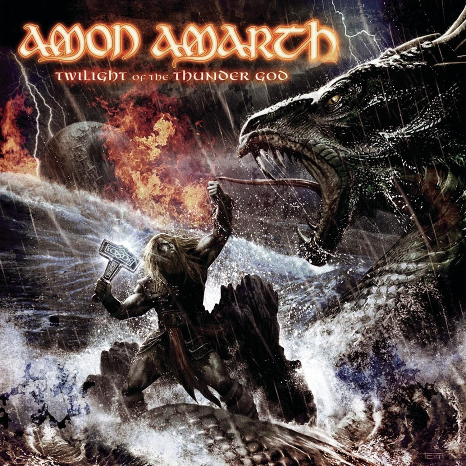 Amon Amarth - Twilight Of The Thunder God album cover