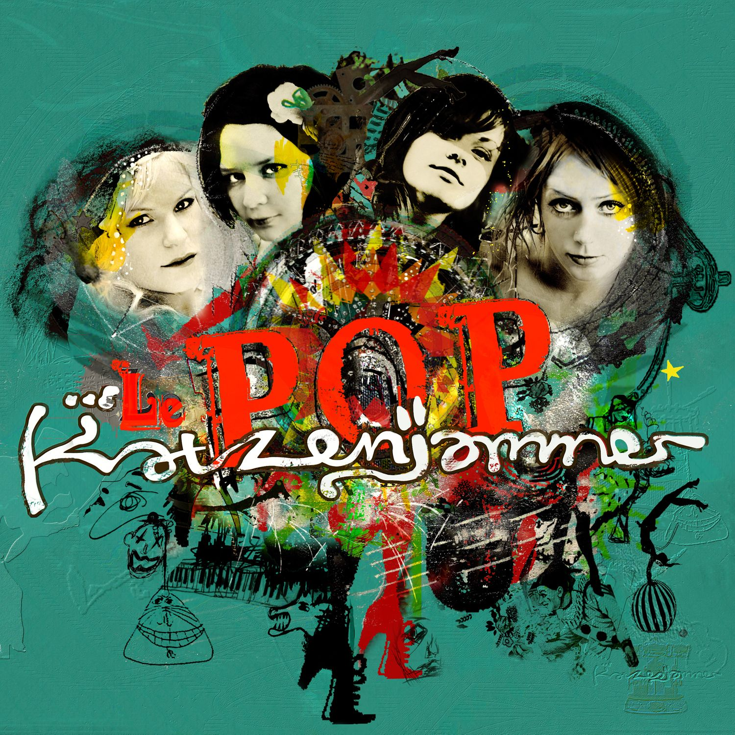 Katzenjammer - Le Pop album cover