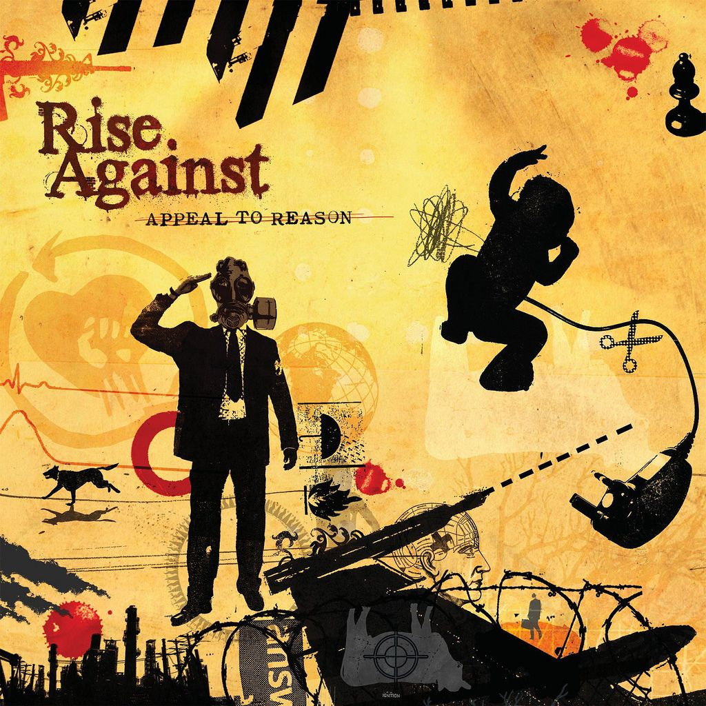 Rise Against - Appeal To Reason album cover