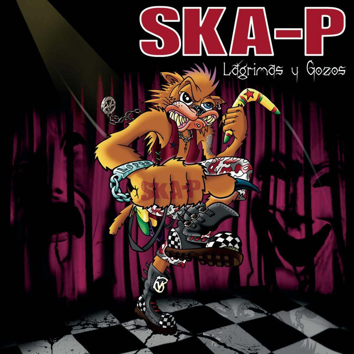 Ska-p - Lagrimas Y Gozos album cover