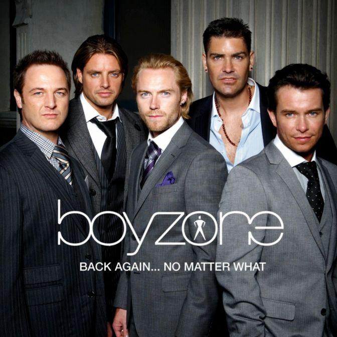 Boyzone - Back Again - No Matter What album cover
