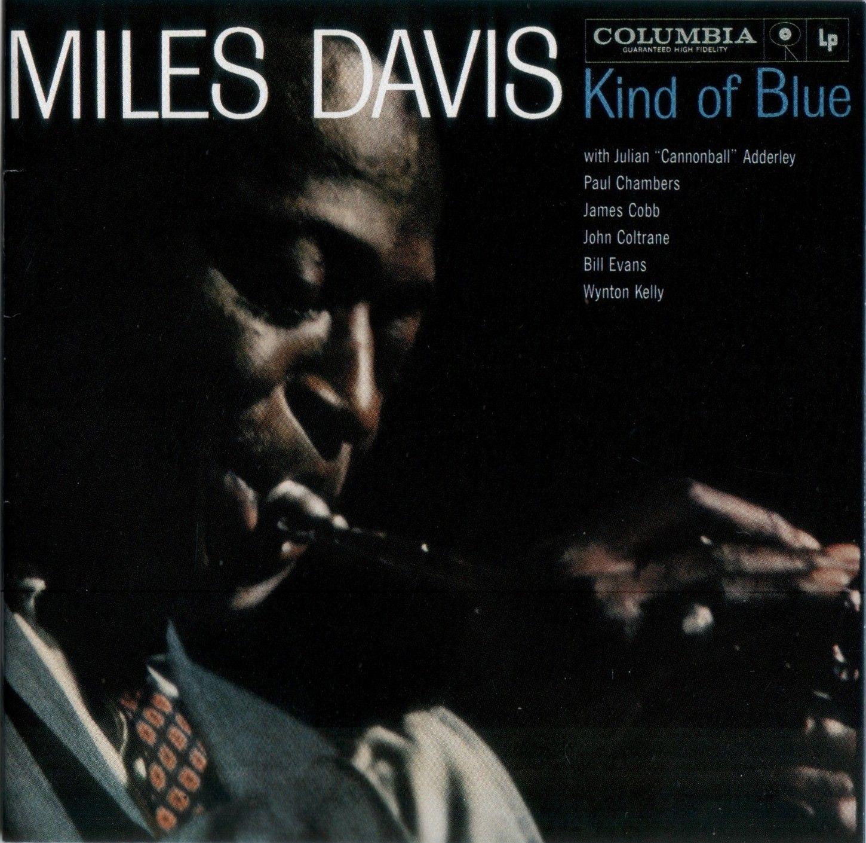 Miles Davis - Kind Of Blue album cover