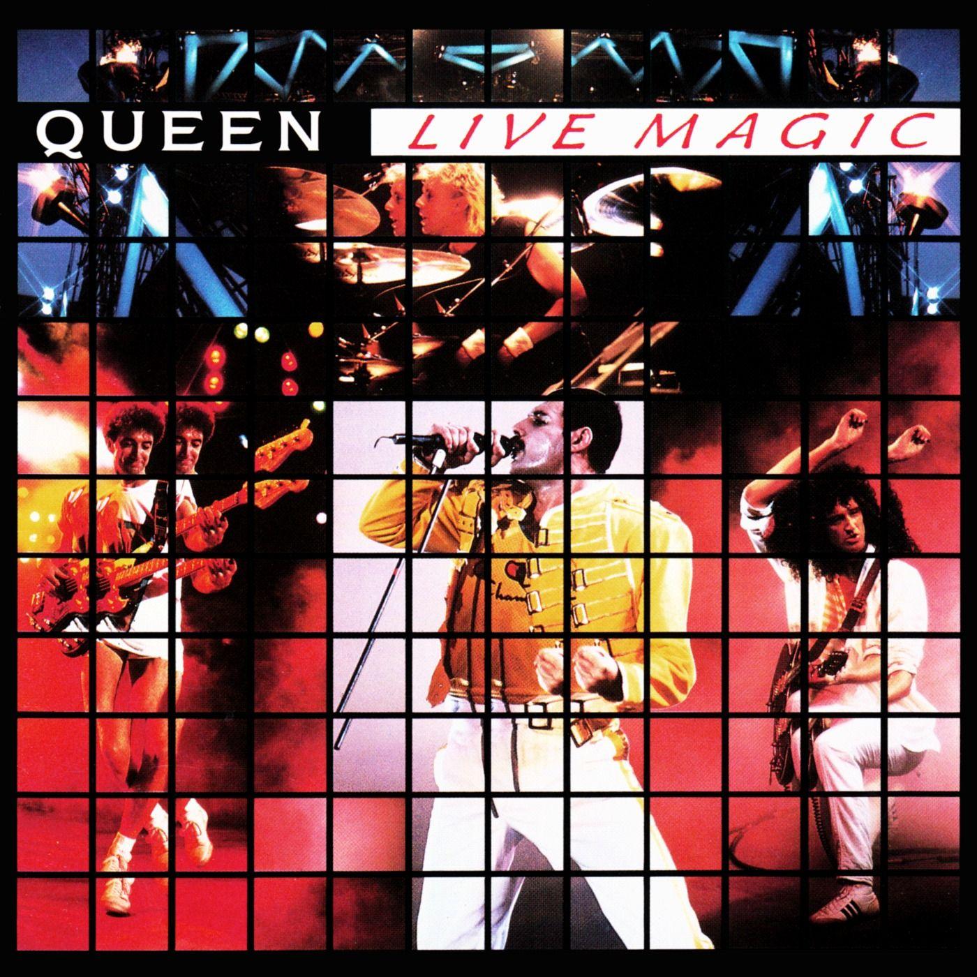 Queen - Live Magic album cover