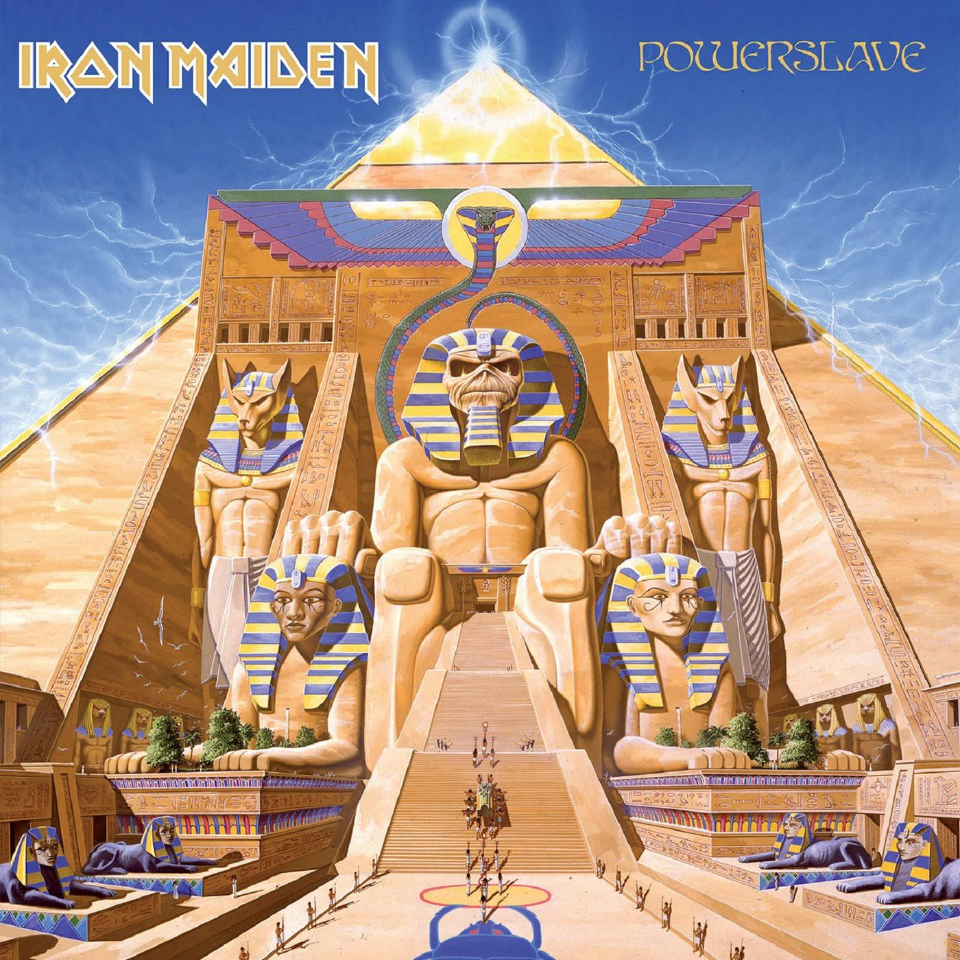 Iron Maiden - Powerslave album cover