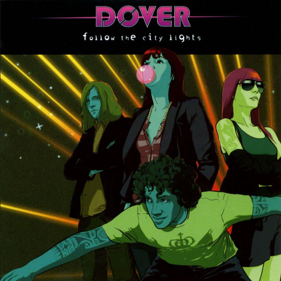 Dover - Follow The City Lights album cover