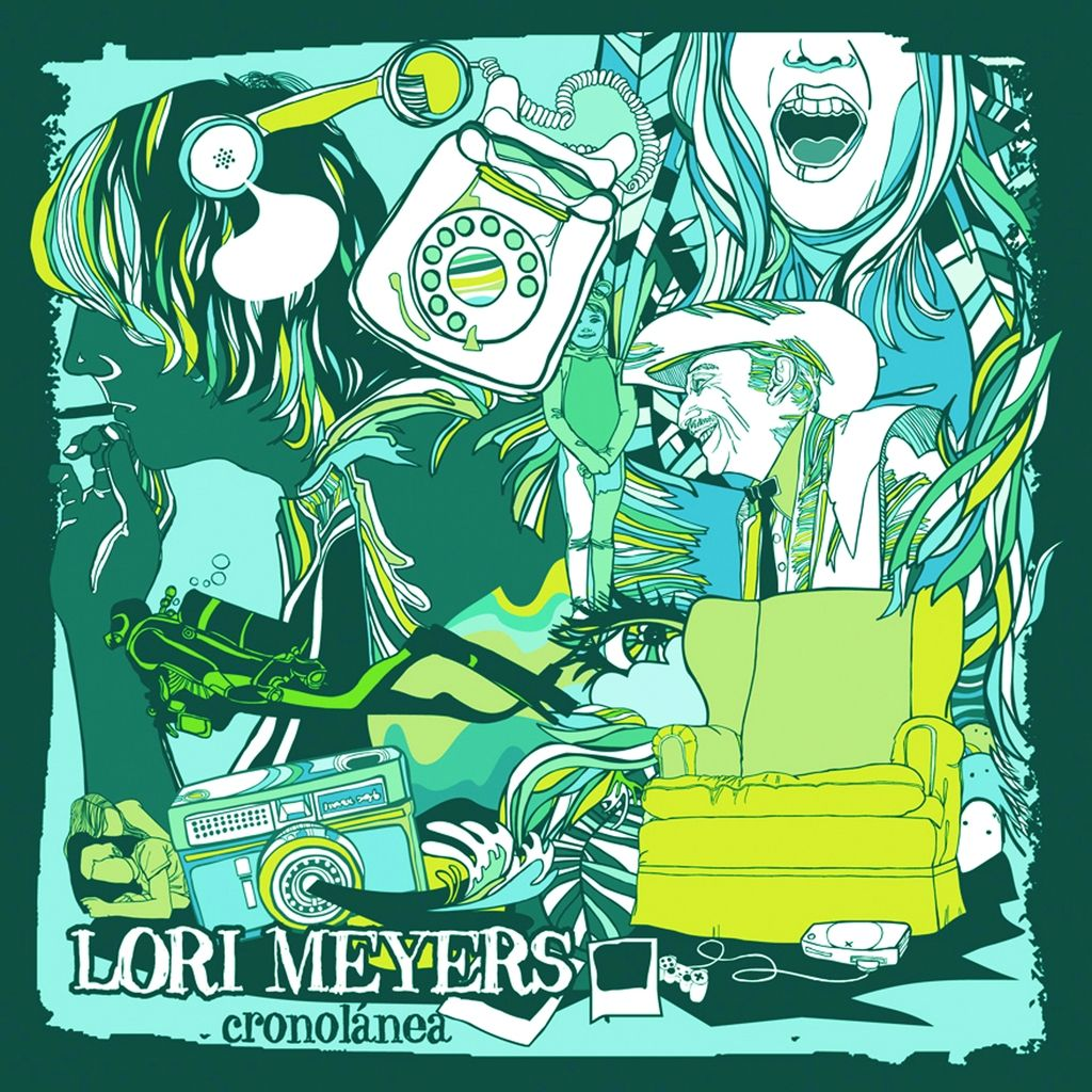 Lori Meyers - Cronolanea album cover